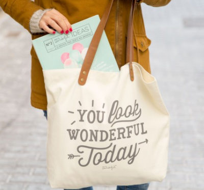 Mr Wonderful - Tote bag - You look wonderful today