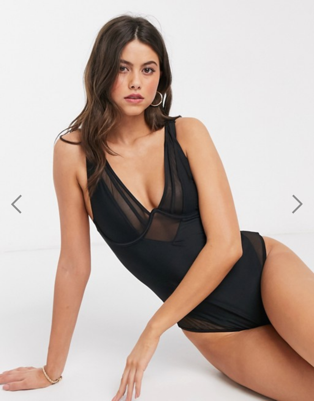 selection été asos maillot transparent